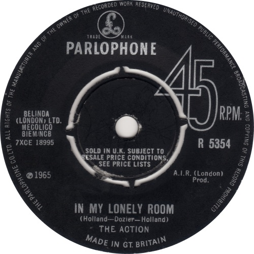 the-action-in-my-lonely-room-parlophone