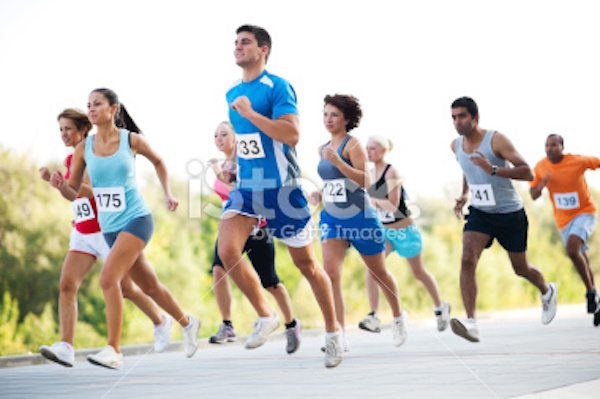 stock-photo-18121156-group-of-runners-in-a-cross-country-race